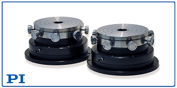 X-Y-Tip-Tilt Stage for Rotary Air Bearings, from PI