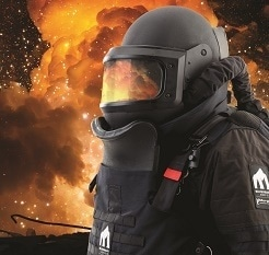 Morgan Advanced Materials Enhances Bomb Suit Capability with Specialist Silverback® CBRN Visor