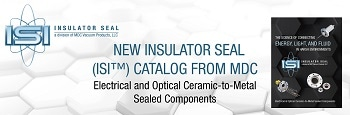 New Insulator Seal (ISI™) Catalog from MDC