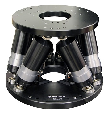 New Hexapod Targets Medium-Load, Ultra-Precision Applications