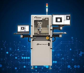 Nordson ASYMTEK Introduces 2-in-1 Dispensing and Inspection System at NEPCON South China, Booth 1H20