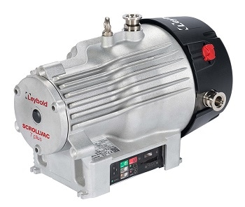 SCROLLVAC Plus Vacuum Pumps from Leybold:  Flexible, Robust, and Low-Maintenance