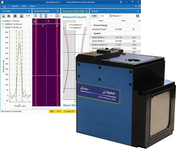 MKS Announces Ophir® BeamWatch AM, Non-Contact Laser Beam Monitoring System for Additive Manufacturing