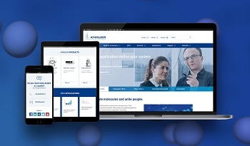 New KNAUER website - provides answers to questions