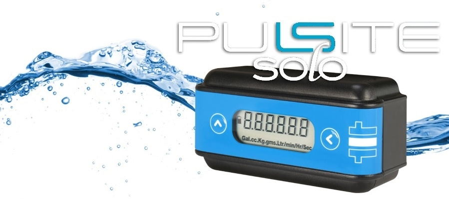 The Pulsite Solo from Titan Enterprises is a low cost, battery powered rate and total flow indicator.