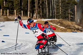 Morgan Helps Veterans Challenge for Paralympian Dream