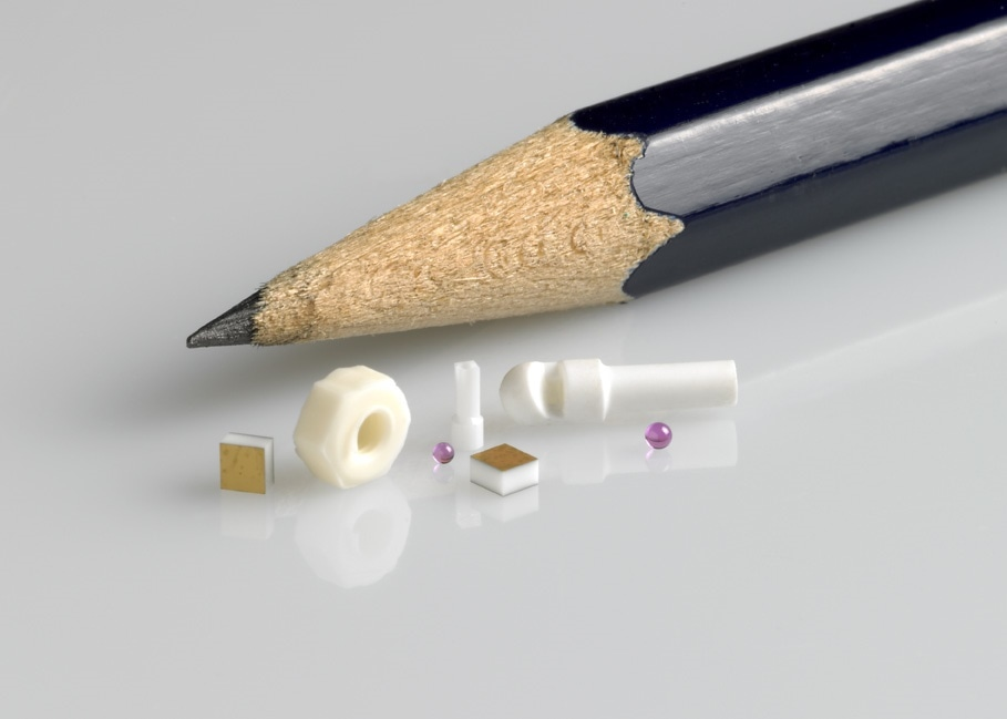 Precision Ceramic and Glass Microcomponents