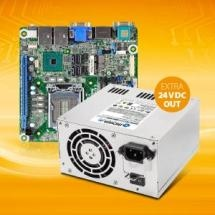 2-In-1 Industrial PC Power Supply: Simultaneous Power Supply of Mainboard and 24V Peripherals with Only One Power Supply