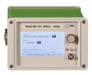 Saelig Introduces BNC Model 865 40GHz Microwave Signal Generator Range