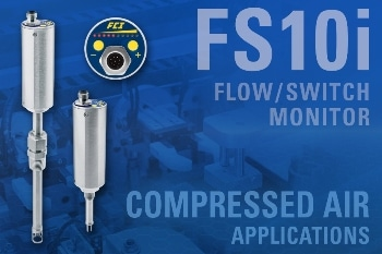 Monitoring Compressed Air in Packaging Machinery with FS10i Flow Switch/Monitor Lowers Energy Costs