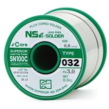 Nihon Superior Introduces Improved Flux-Cored Solder Wire
