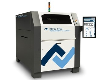 Stencil Printer with Fully Integrated 3D SPI from Kurtz Ersa Inc. at SMTAI
