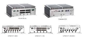 Axiomtek -  16-PoE Fanless Embedded System with E-Mark, EN 50155 for Vehicle and Railway Markets