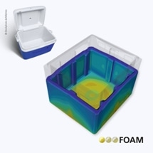 Fraunhofer Researchers Simulate and Characterize Polyurethane Foams