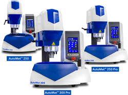 New Robust, Programmable Auto-Met Grinder-Polishers by Buehler Save Time in Processing Samples