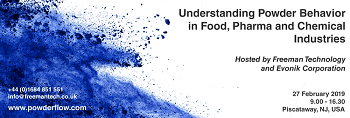 Understanding Powder Behavior In Food, Pharma And Chemical Industries – Free Seminar