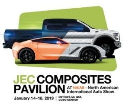 JEC Group to Focus on Composites Solutions for Future Mobility at NAIAS 2019