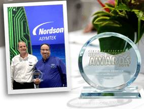 Nordson ASYMTEK Wins Its 15th Service Excellence Award