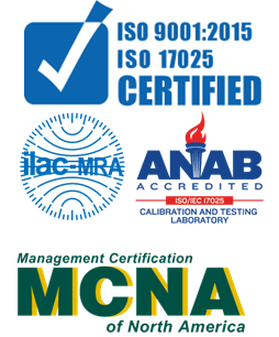 PAC's Headquarters are now  ISO/IEC 17025:2017 Accredited  for Calibration and Testing