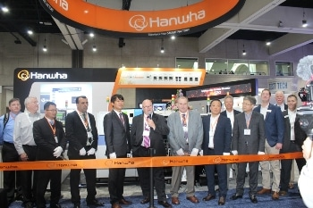 Hanwha Commemorates Award-Winning New Technology with Ribbon Cutting Ceremony