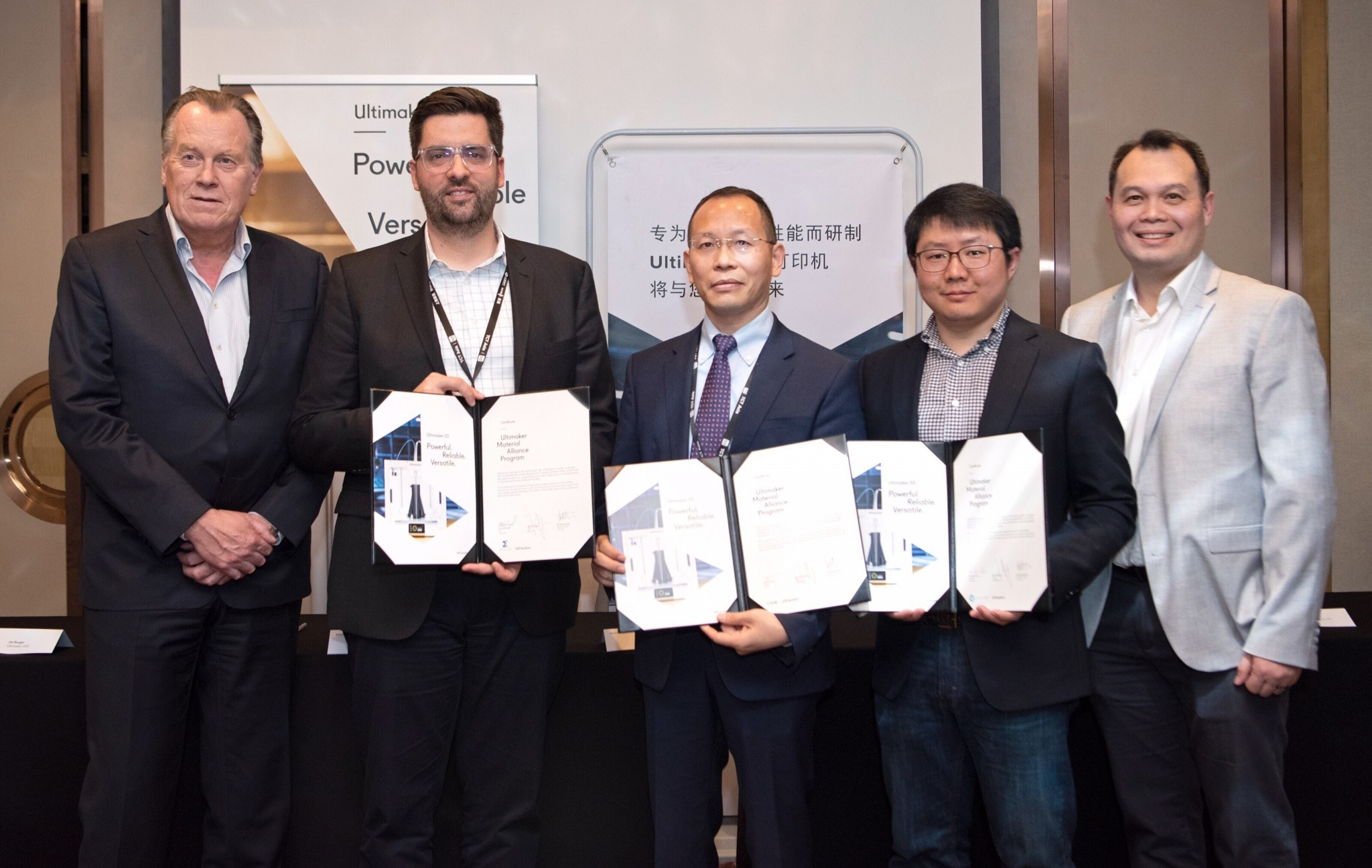 Essentium, eSUN, and Polymaker join Ultimaker Material Alliance Program during TCT ASIA