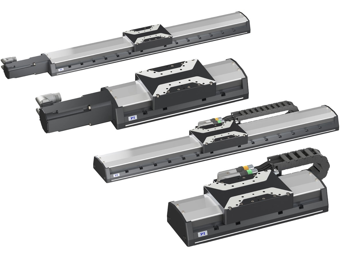 Precision Linear Stage Family: Linear Motor and Screw-Drive Options
