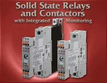 Solid State Relays and Contactors - With Integrated Monitoring