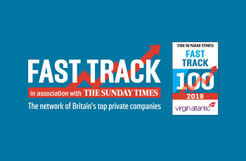 TRB Lightweight Structures Ranked in the Sunday Times Fast Track 100