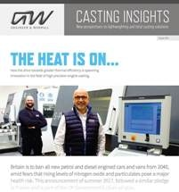 The Heat is on… Grainger & Worrall Launches White Paper on Thermal Efficiency and its Role in Driving Innovation in Engine Castings