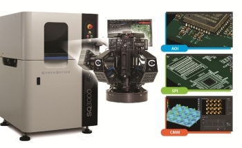 CyberOptics Brings the Multifunction SQ3000™ for AOI, SPI and CMM to NEPCON China