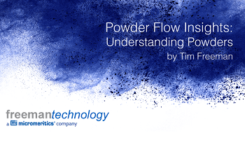 Freeman Technology Update - Understanding Powders