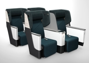 Rockwood Composites and HAECO Cabin Solutions Revolutionise Aircraft Seating