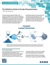 Micromeritics Releases New Whitepaper Showcasing an Optimal Analytical Toolkit for Powders