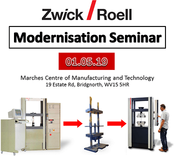 Materials Testing Machine Modernisation Seminar