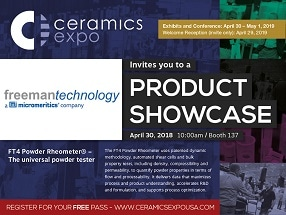 Exhibitor Spotlight – Ceramics Expo
