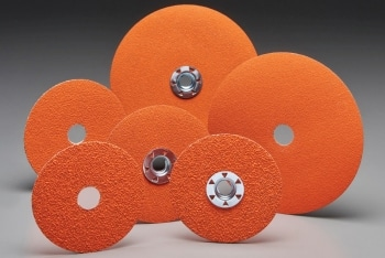 New Next Generation Norton Blazex F970 Fiber Discs Offer 50% Faster Cut Rate in Carbon Steel & Soft-to-Grind Materials