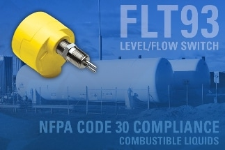 FLT93 Switch Supports NFPA Code 30 Compliance for Storage & Use of Combustible Liquids