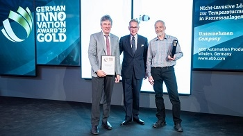 ABB's Pioneering Non-Invasive Temperature Sensor Wins Gold in German Innovation Awards