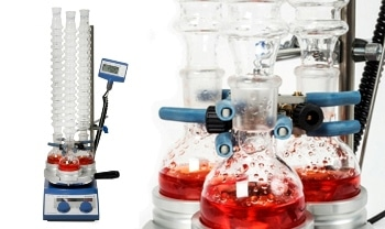 Synthetic Chemistry Labs Benefit from Waterless Condenser