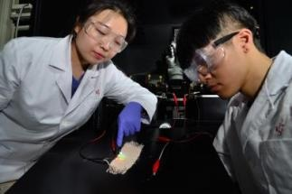 Fibrous Transistors Retain Functionality Even After Being Bent and Washed