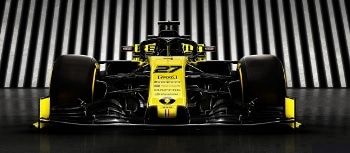 3D Printed Racecar Parts for Renault R.S.19 Competing in 2019 F1 Championship