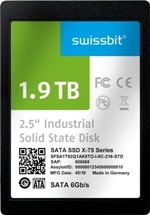 SATA-6-Gb/s-SSD for Demanding Industrial- & NetCom Applications