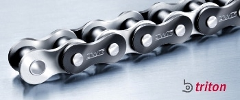 High-Tech Coating Protects Against Corrosion and Wear: The New B.Triton High-Performance Roller Chains from iwis