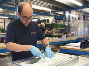 Rockwood Composites Celebrates Delivering 2,500th Part to Roxel with New Contract Award