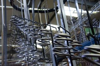 New 700 sq Meter Powder Coating Line Doubles Production at European Springs & Pressings
