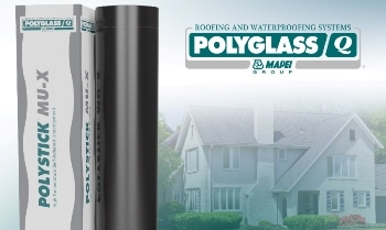 Polyglass Redesigns Polystick® MU-X High Temperature Underlayment