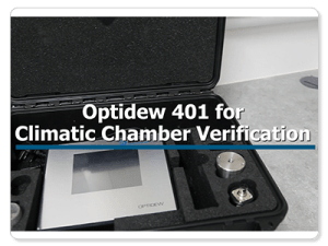 New Video: Optidew 401 Chilled Mirror Hygrometer for Climatic Chamber Verification