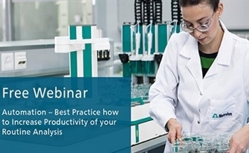 Free Webinar: Best Practice How to Increase Productivity of Routine Analysis Through Automation