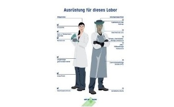 "Decrease Operator Risk: Customizable METTLER TOLEDO ""Proper Gear"" Safety Poster Lets You Focus on Your Lab's Required Protective Equipment"