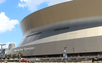 Lorin Supplies Innovative Anodized Aluminum for  Exterior of Restored Superdome